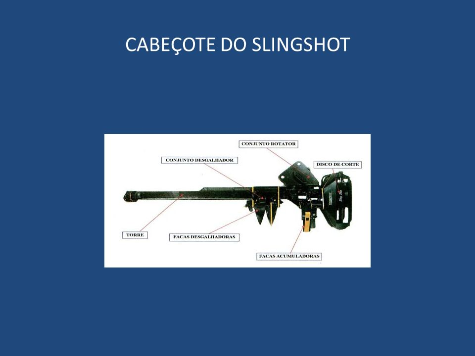 CABEÇOTE DO SLINGSHOT