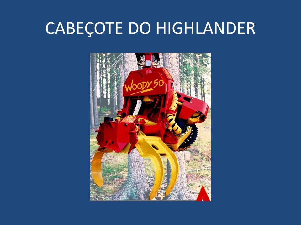 CABEÇOTE DO HIGHLANDER