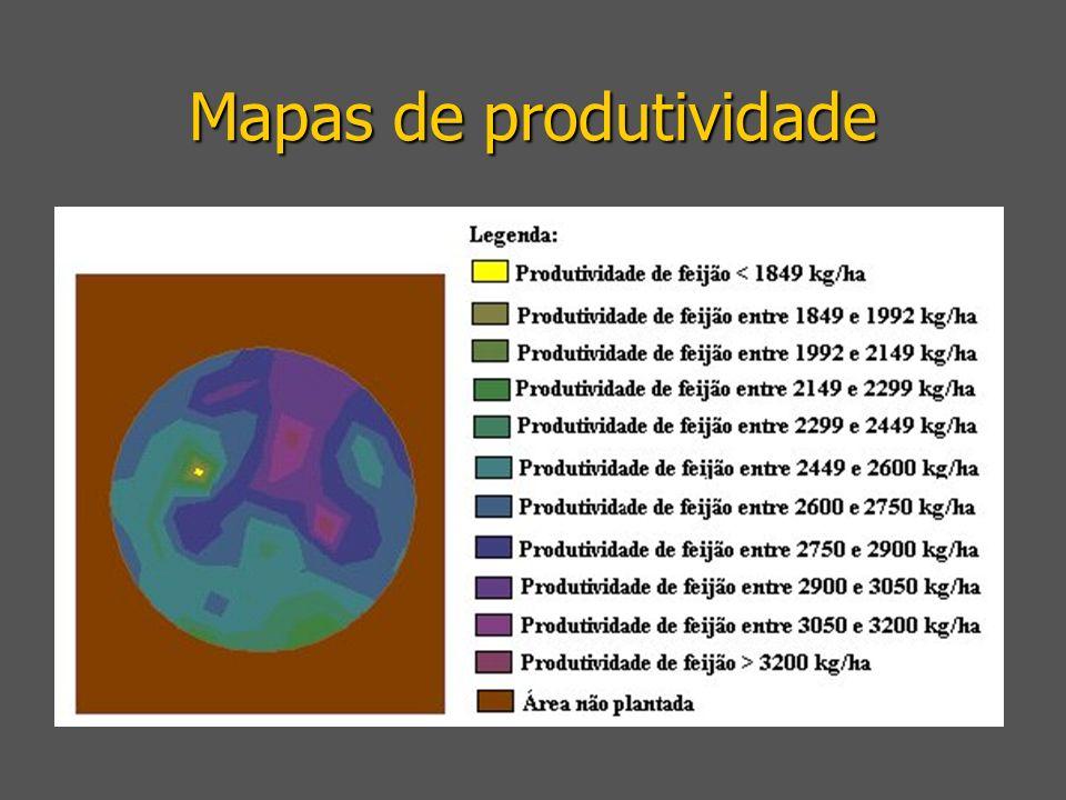Mapas de produtividade