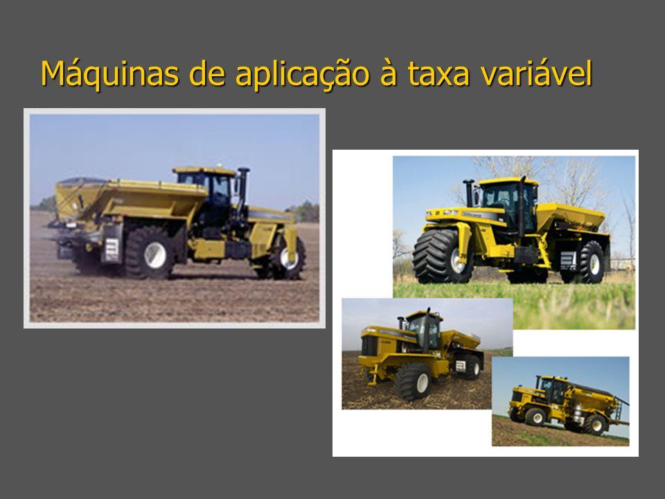 Máquinas de aplicação à taxa variável