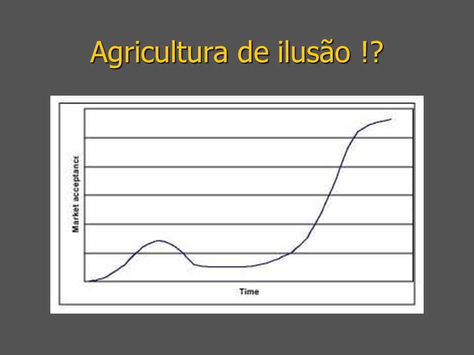 Agricultura de ilusão !