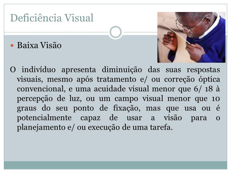 Deficiência Visual Baixa Visão