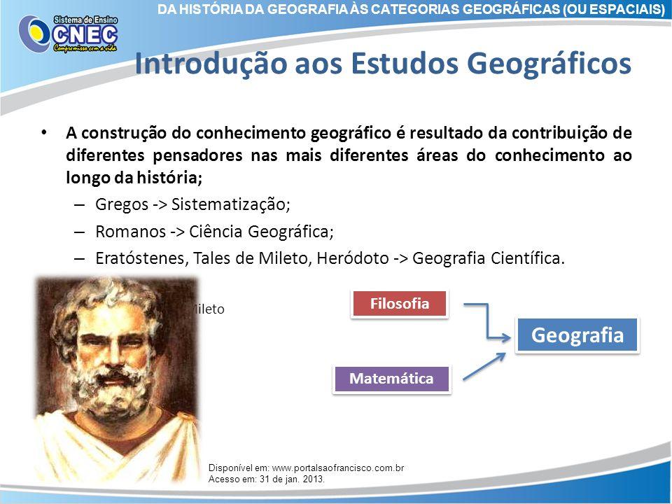 Introdução aos Estudos Geográficos