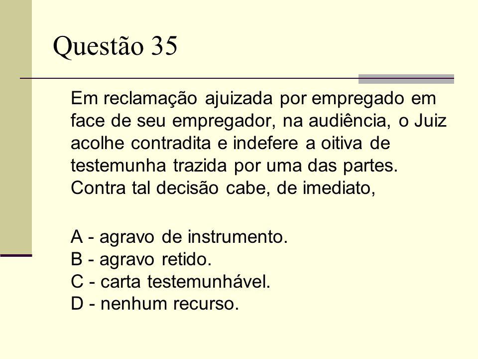 Questão 35