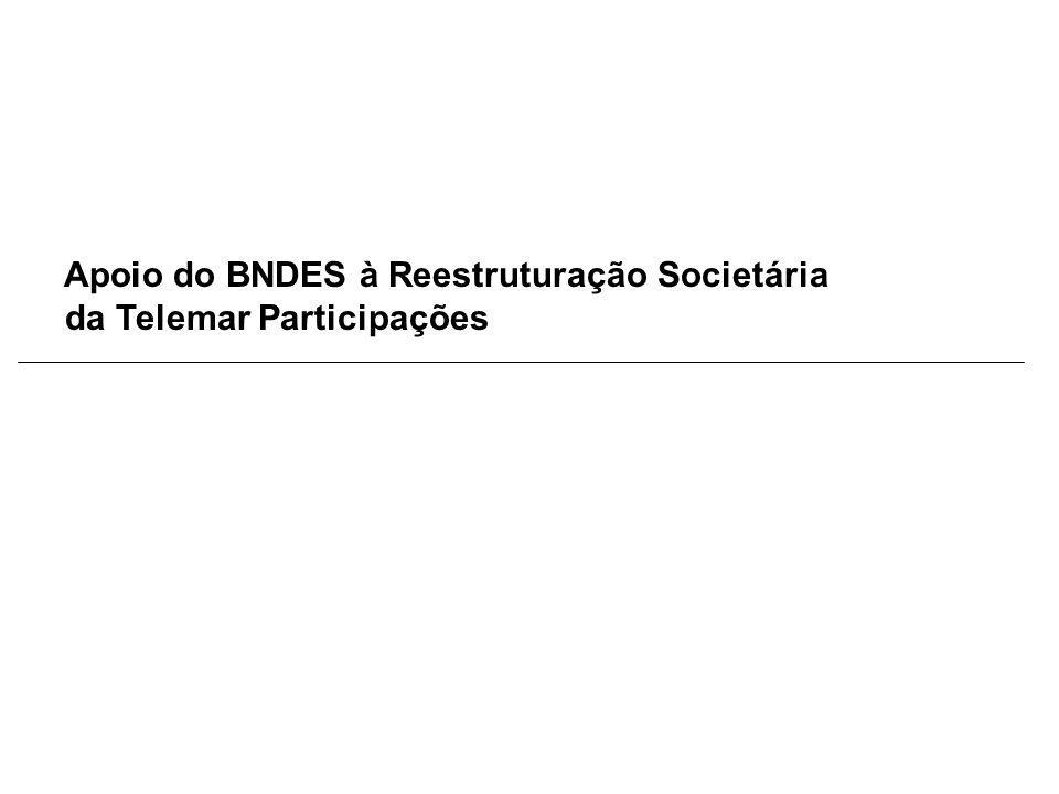 Apoio do BNDES à Reestruturação Societária