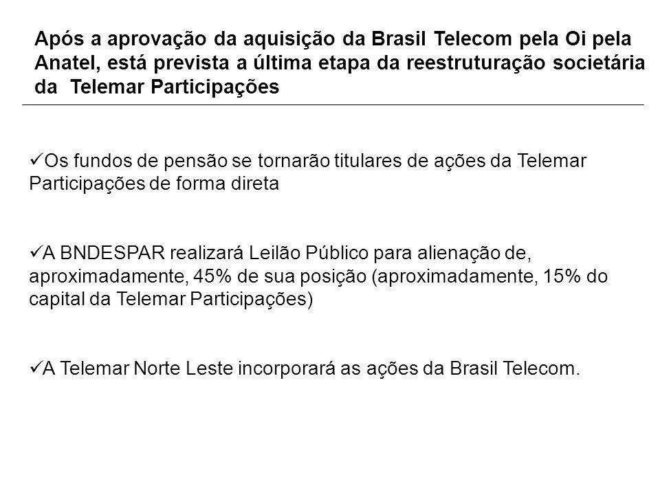 Após a aprovação da aquisição da Brasil Telecom pela Oi pela