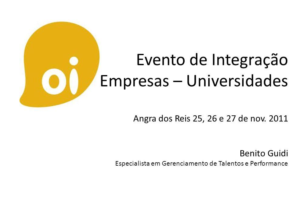 Evento de Integração Empresas – Universidades Angra dos Reis 25, 26 e 27 de nov.