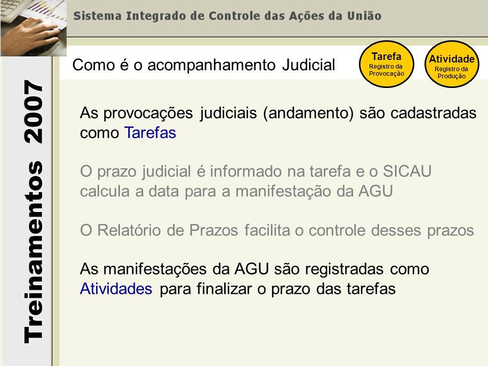 Como é o acompanhamento Judicial
