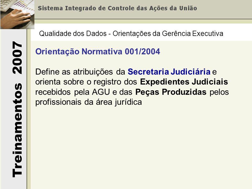 Orientação Normativa 001/2004