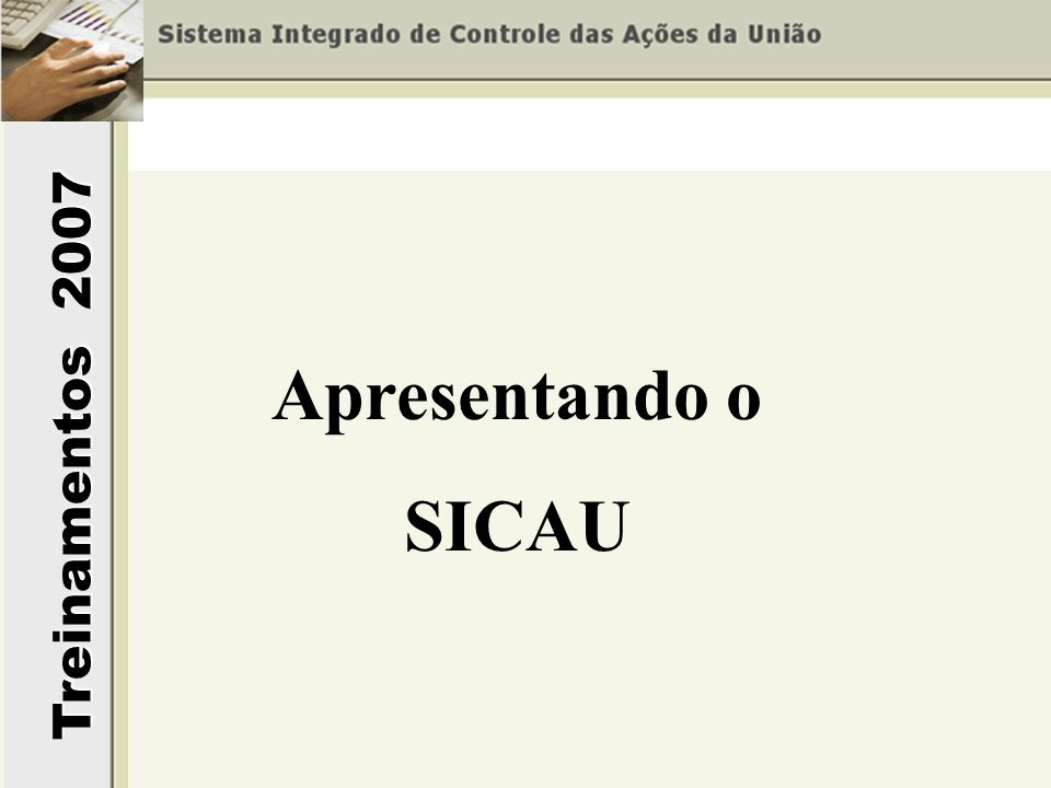 Apresentando o SICAU