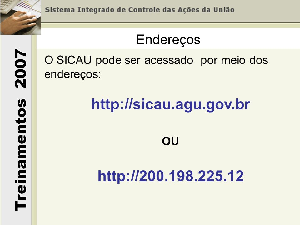 http://sicau.agu.gov.br http://200.198.225.12