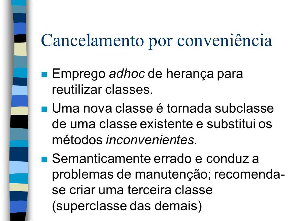 Cancelamento por conveniência