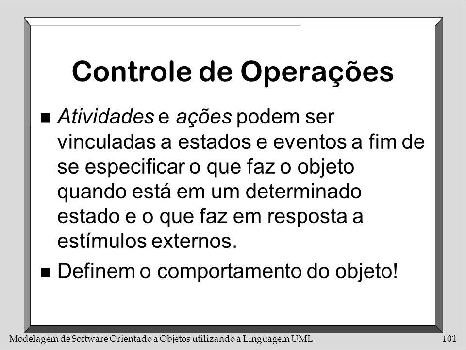 Controle de Operações