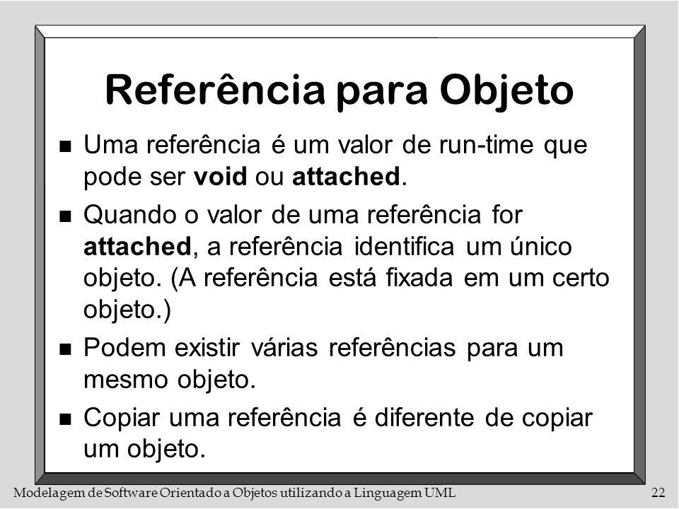 Referência para Objeto
