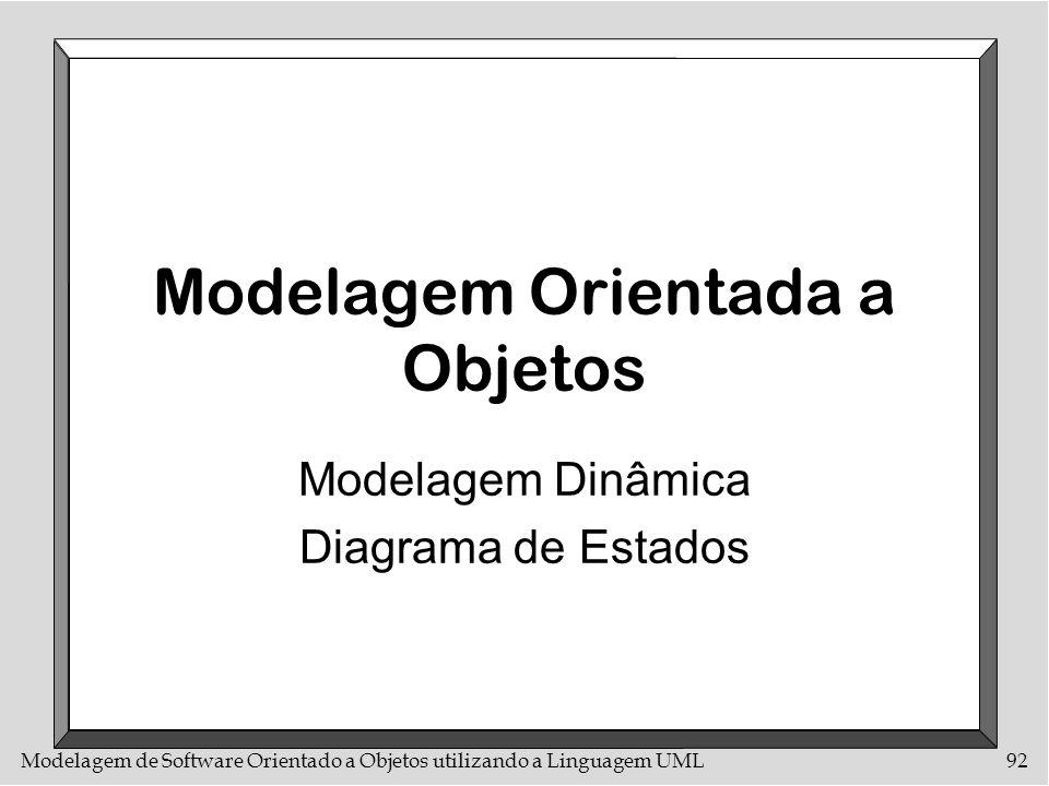 Modelagem Orientada a Objetos