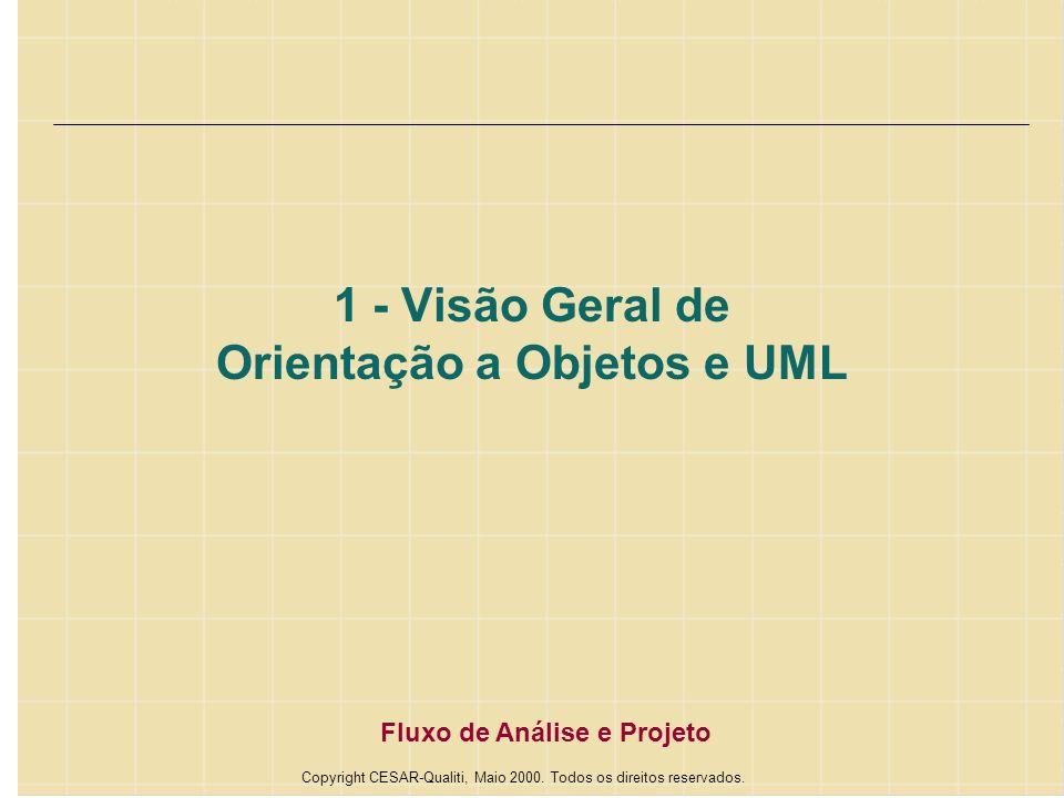 1 - Visão Geral de Orientação a Objetos e UML