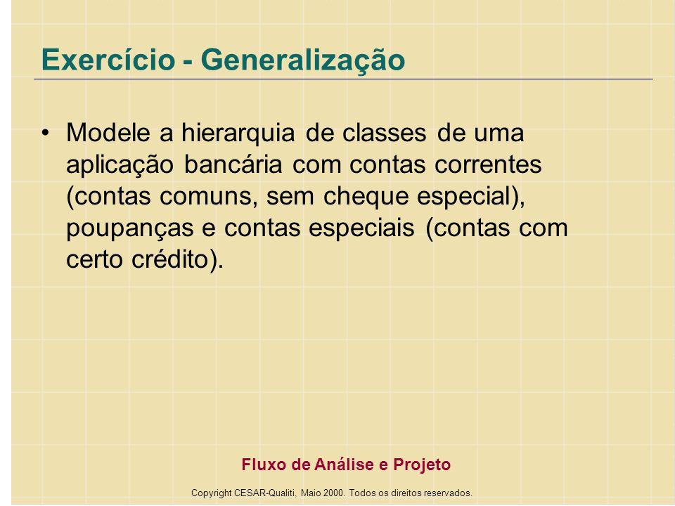 Exercício - Generalização