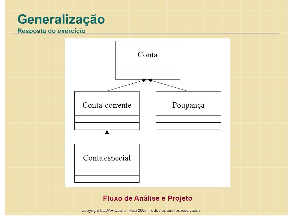 Generalização Resposta do exercício