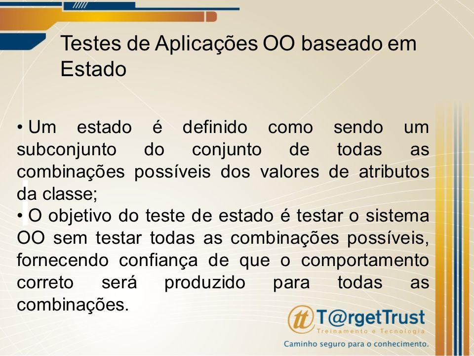 Testes de Aplicações OO baseado em Estado