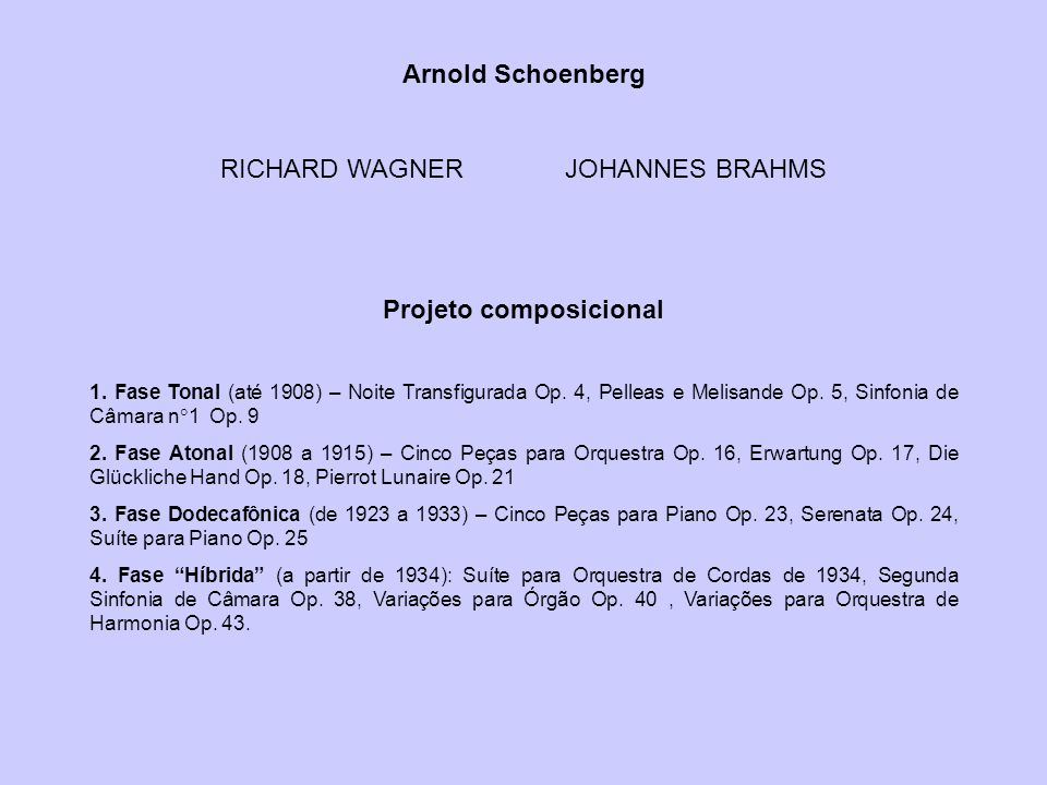 Projeto composicional