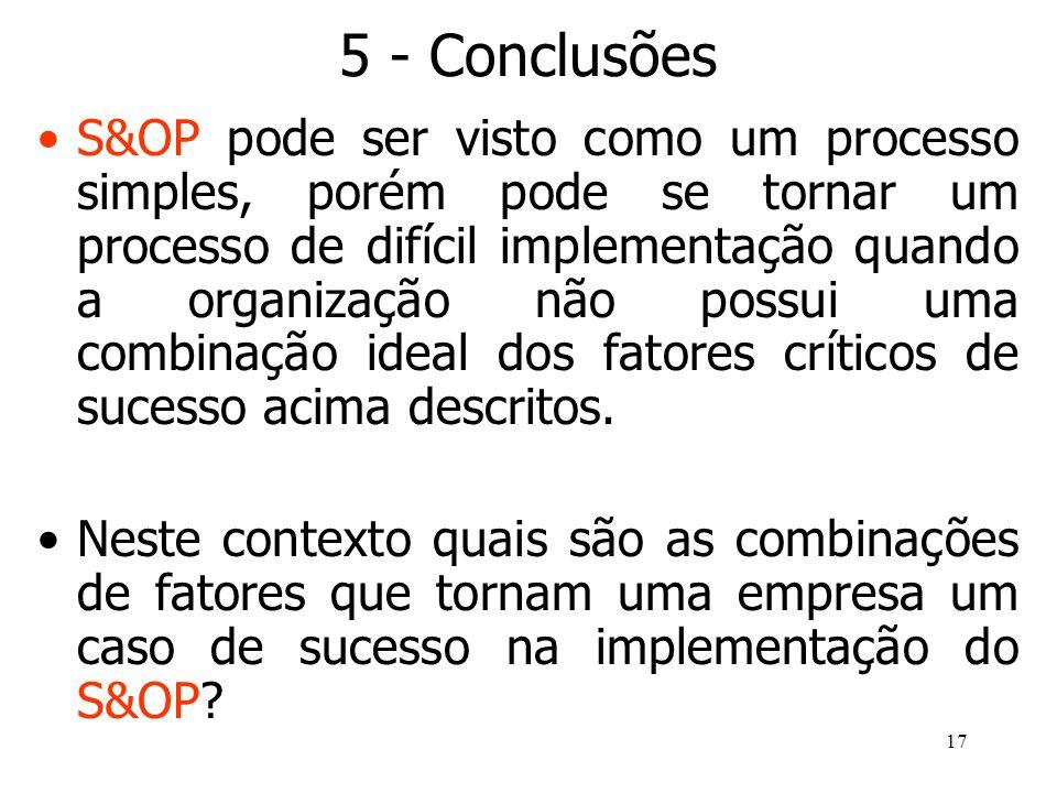 5 - Conclusões