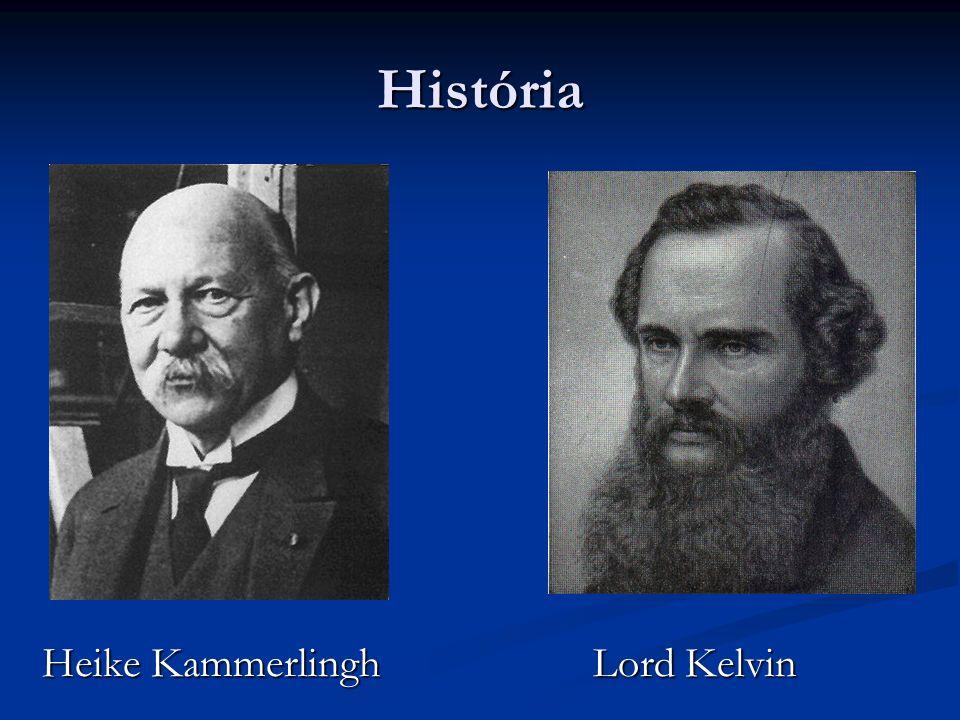 História Heike Kammerlingh Lord Kelvin