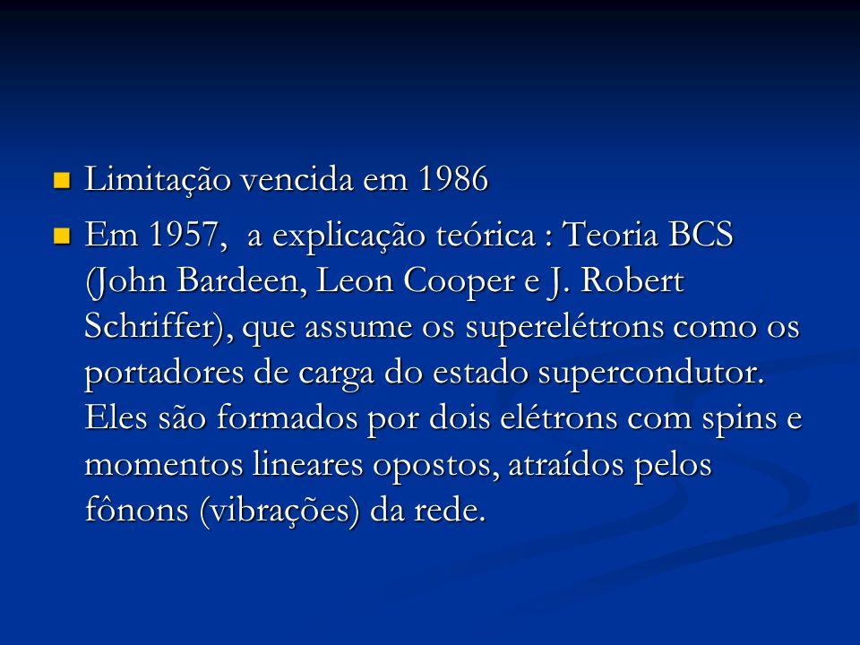 Limitação vencida em 1986