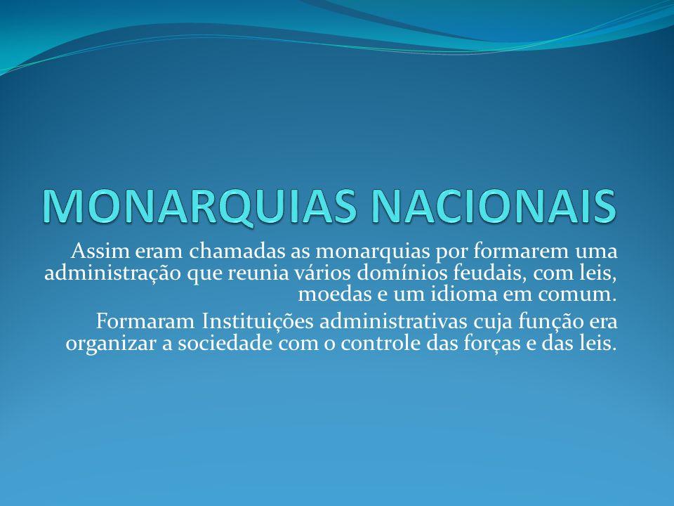 MONARQUIAS NACIONAIS