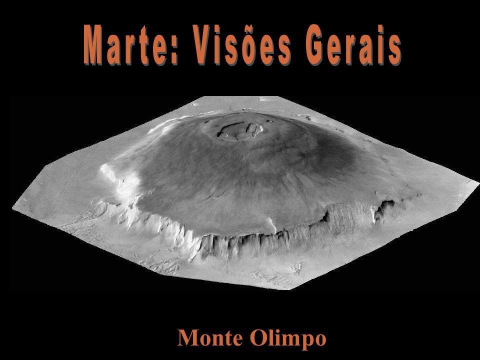 Marte: Visões Gerais Monte Olimpo