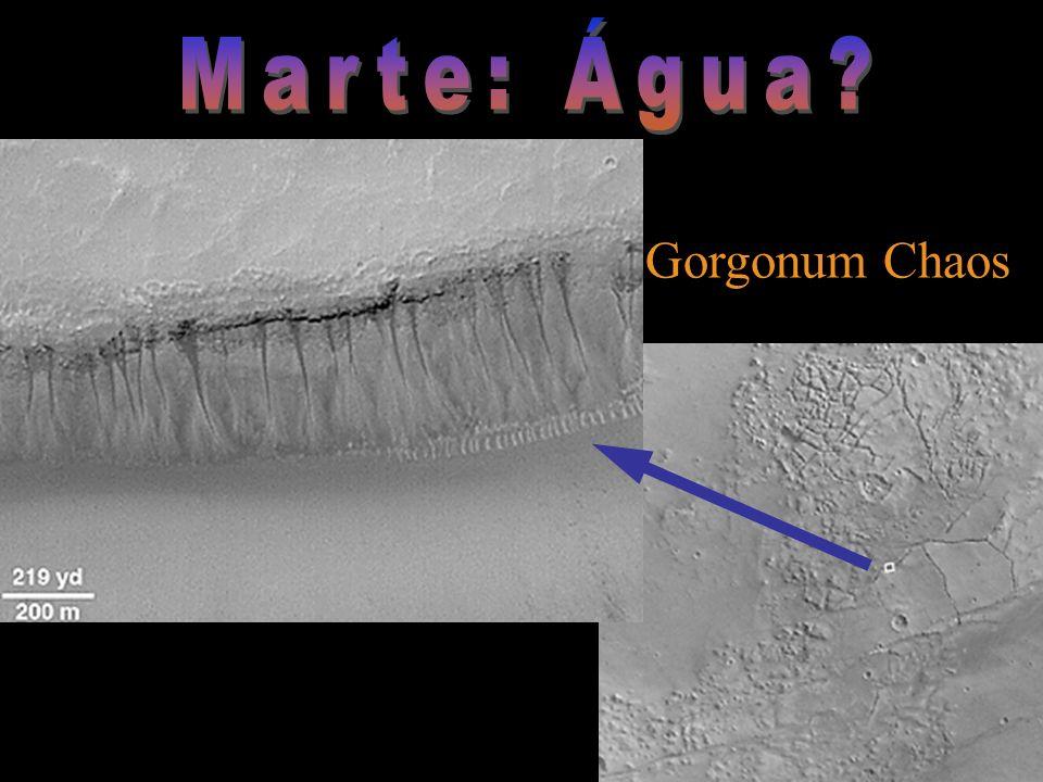 Marte: Água Gorgonum Chaos