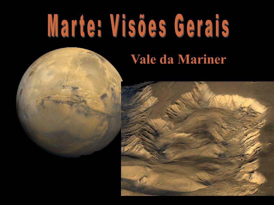 Marte: Visões Gerais Vale da Mariner