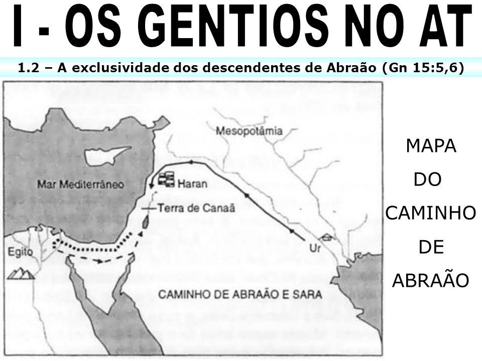 1.2 – A exclusividade dos descendentes de Abraão (Gn 15:5,6)