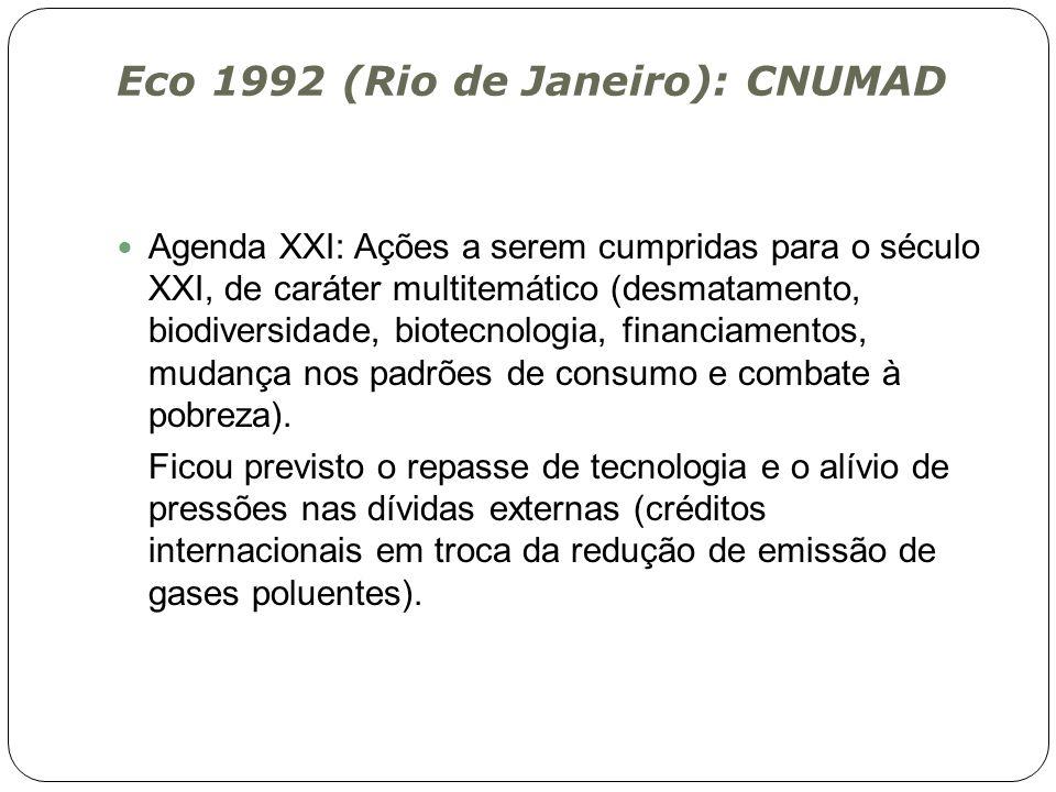 Eco 1992 (Rio de Janeiro): CNUMAD