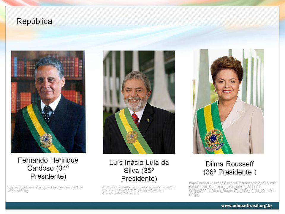 República Fernando Henrique Cardoso (34º Presidente)