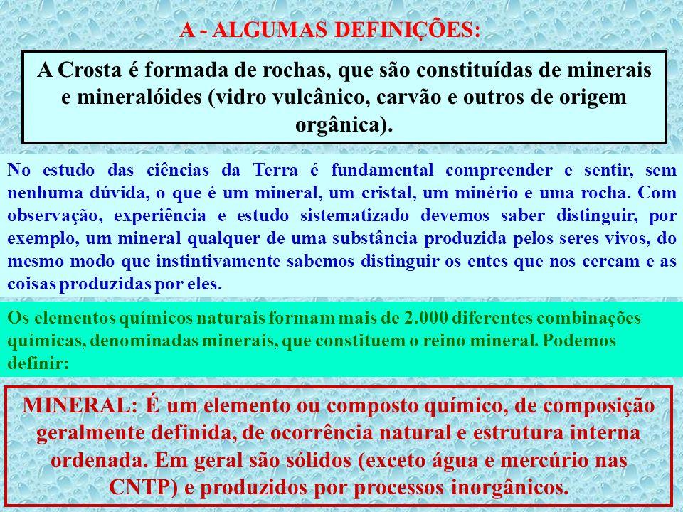 A - ALGUMAS DEFINIÇÕES: