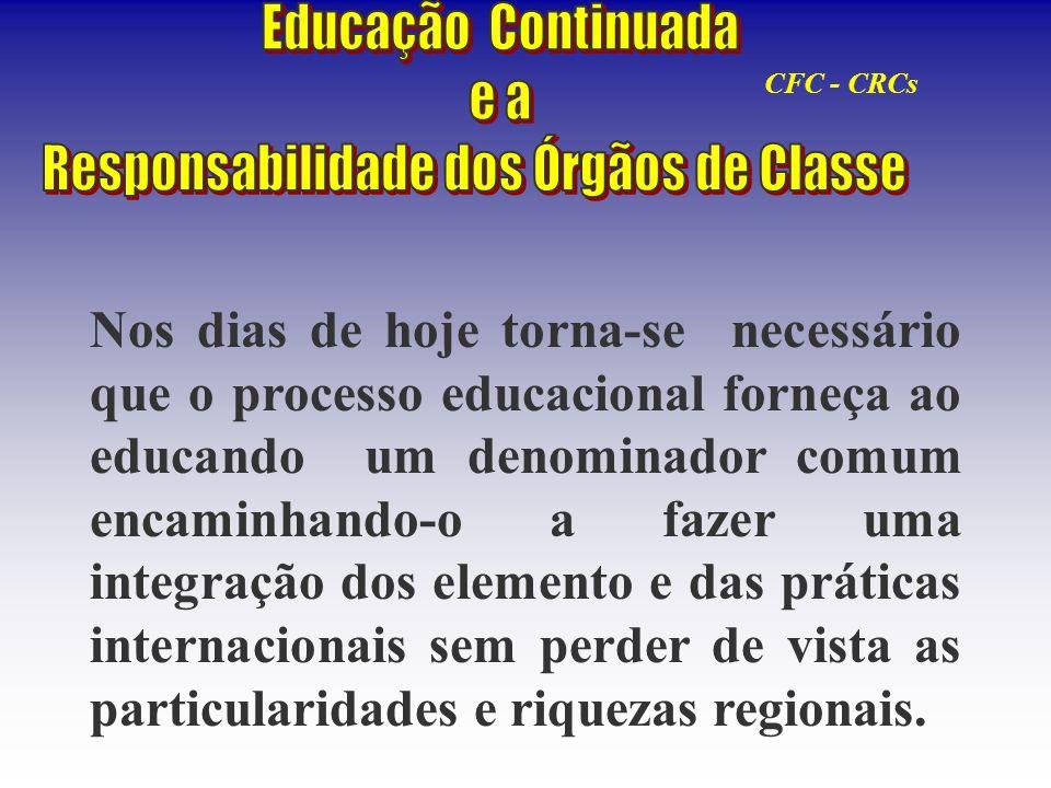 Responsabilidade dos Órgãos de Classe