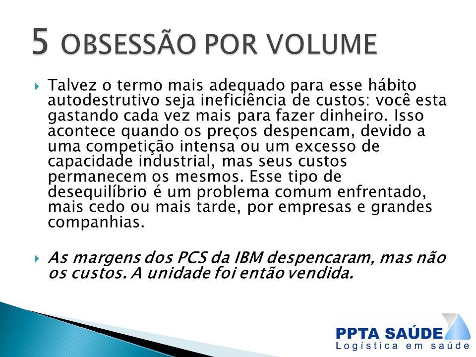 5 OBSESSÃO POR VOLUME