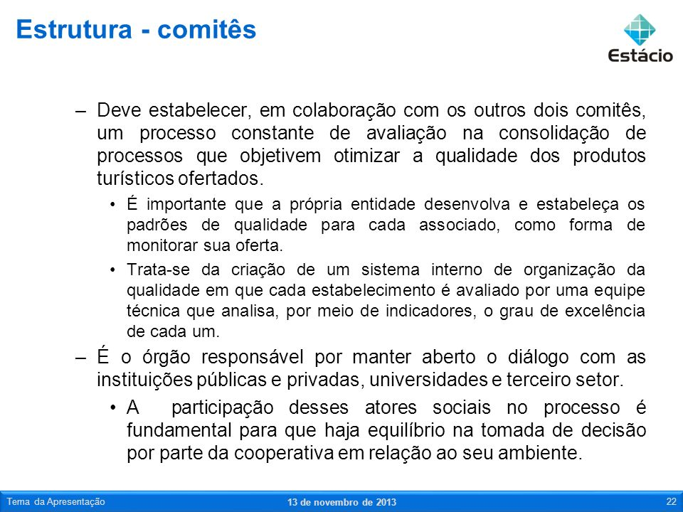 Estrutura - comitês