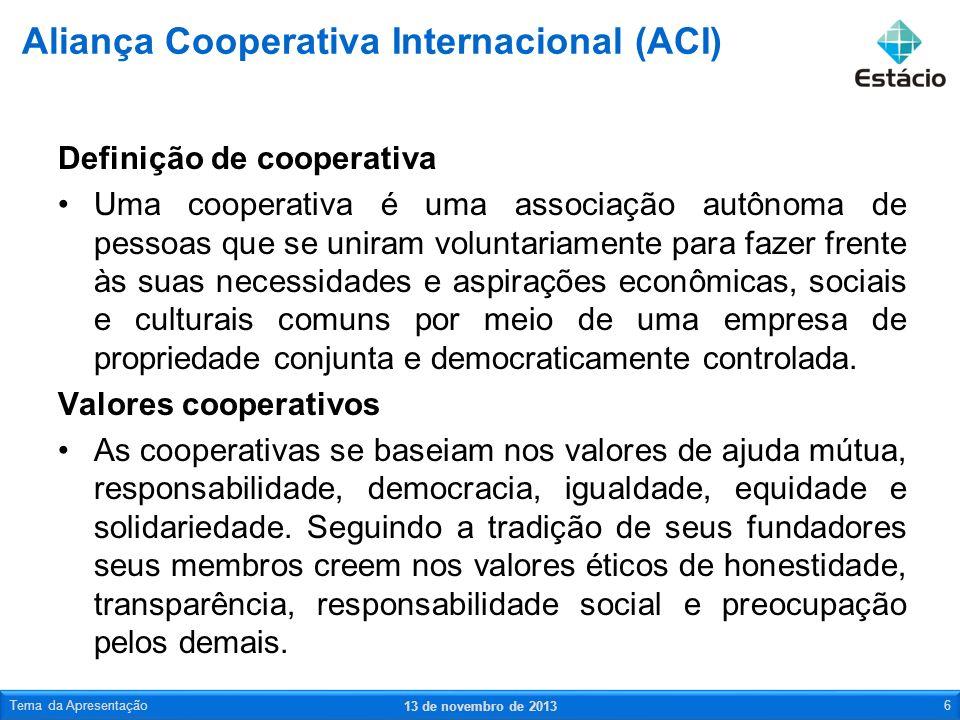 Aliança Cooperativa Internacional (ACI)