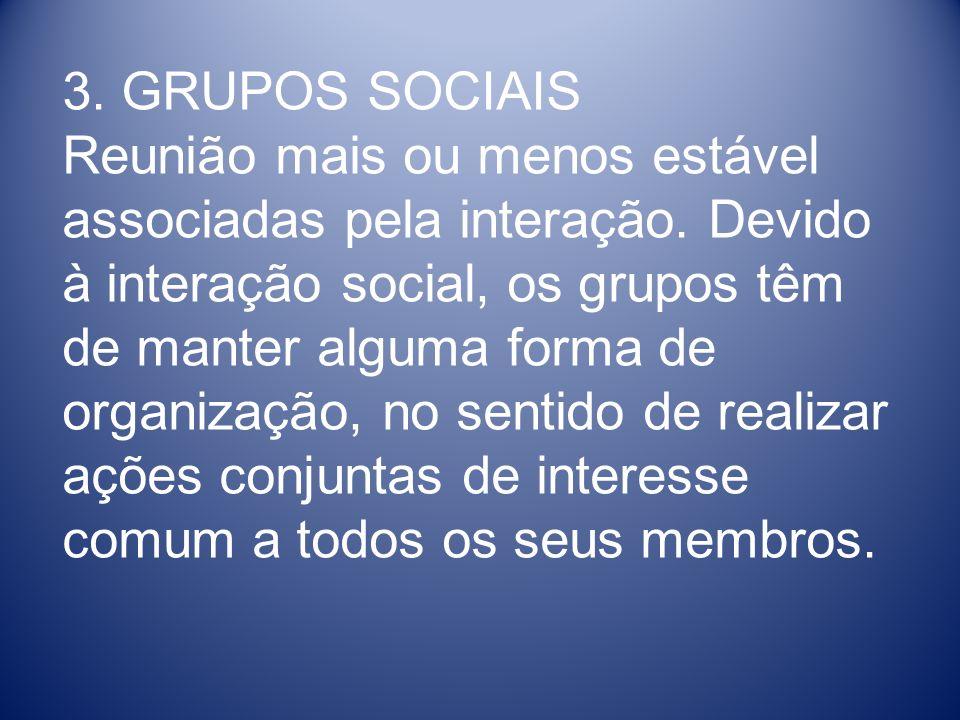 3. GRUPOS SOCIAIS