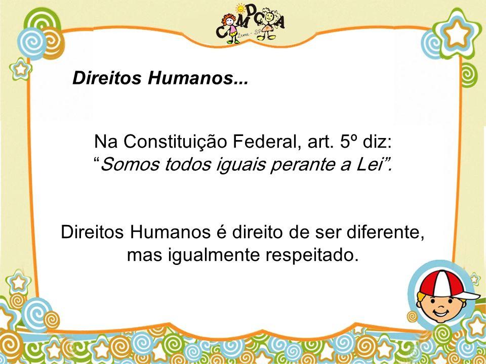 Direitos Humanos...