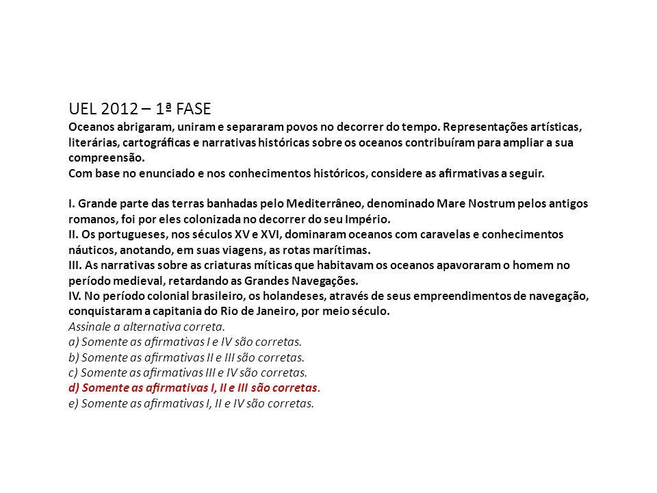 UEL 2012 – 1ª FASE