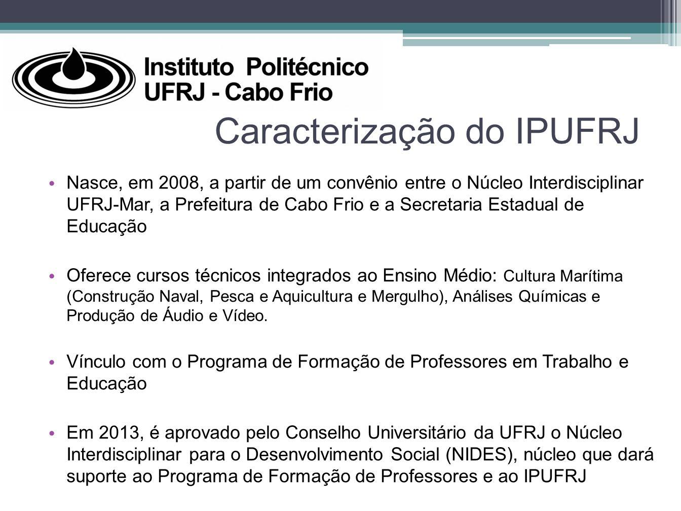 Caracterização do IPUFRJ