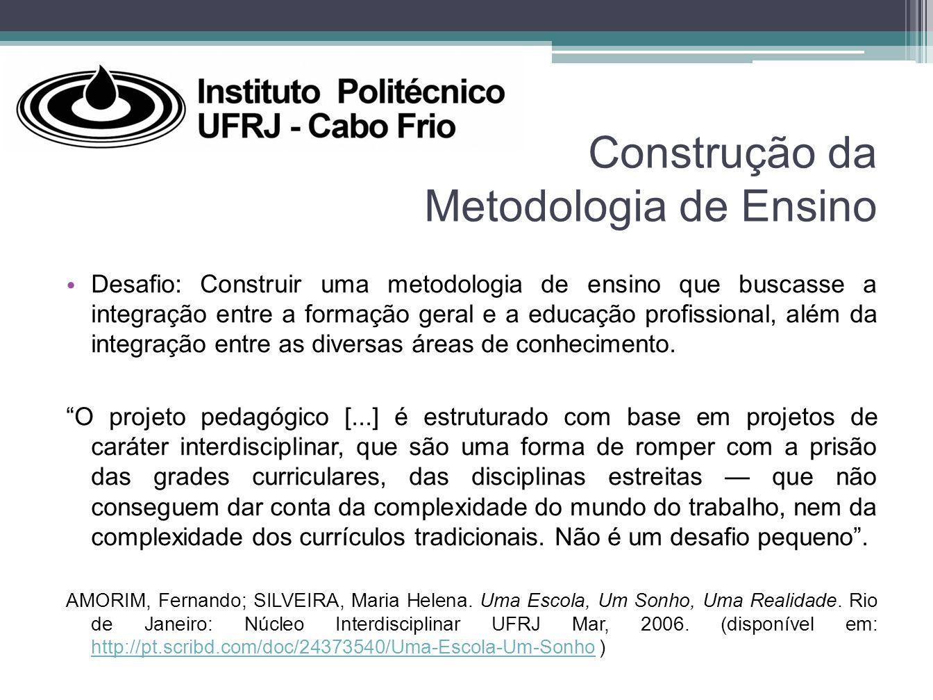 Construção da Metodologia de Ensino
