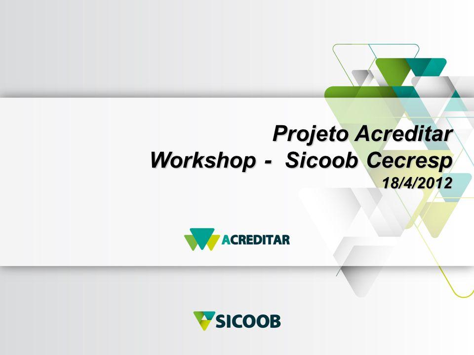 Projeto Acreditar Workshop - Sicoob Cecresp 18/4/2012