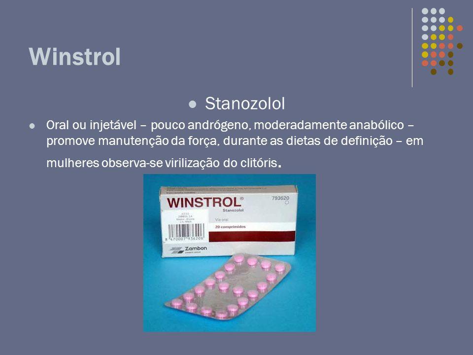 Winstrol Stanozolol.