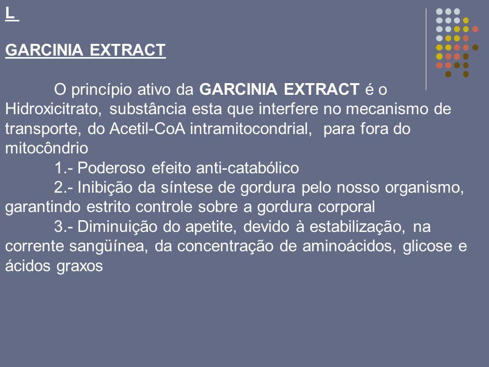 LGARCINIA EXTRACT.