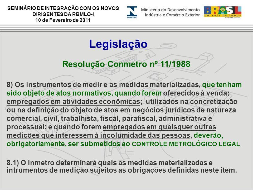 Resolução Conmetro nº 11/1988