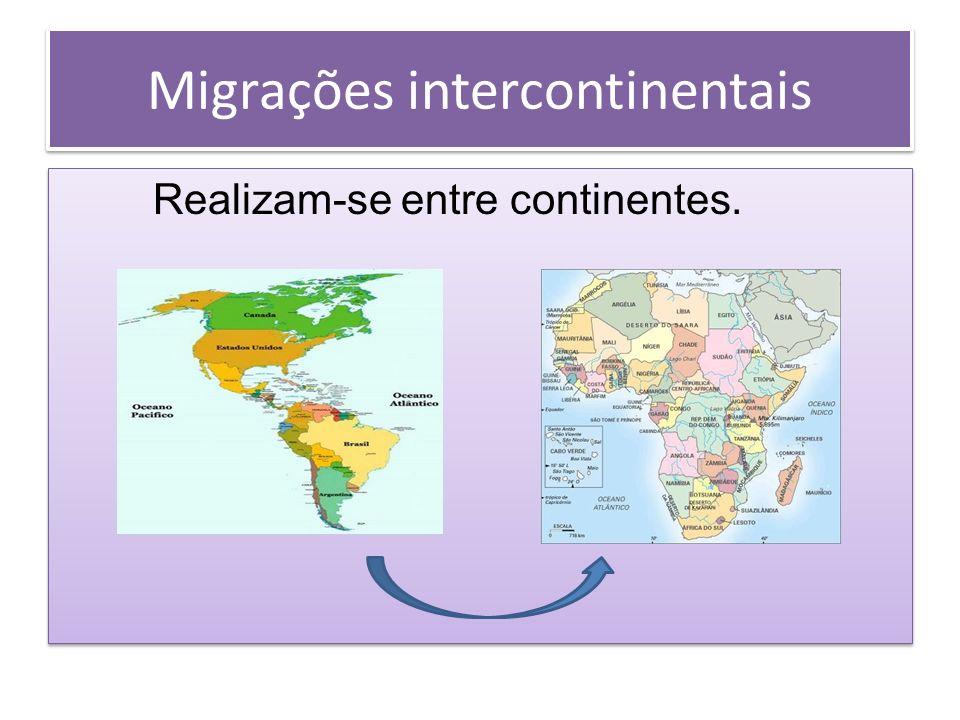Migrações intercontinentais