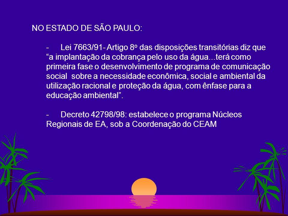NO ESTADO DE SÃO PAULO: